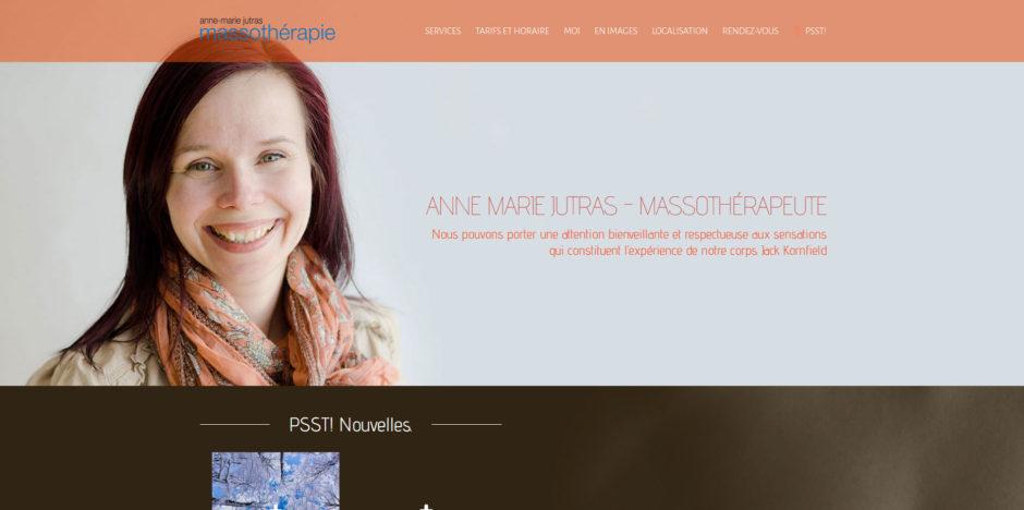 Anne-Marie Jutras Massothérapie